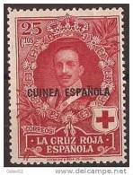 GUI183-A869TAN.Guinee .GUINEA  ESPAÑOLA.Alfonso Xlll.CRUZ ROJA.1926  (Ed 183**) Sin Charnela. - 1889-1931 Reino: Alfonso XIII