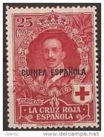 GUI183-A869.Guinee .GUINEA  ESPAÑOLA.Alfonso Xlll.CRUZ ROJA.1926  (Ed 183**) Sin Charnela. - Guinea Española