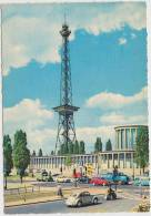 Berlin-Funkturm: VW KÄFER/COX,DKW UNIVERSAL, OPEL REKORD P1, BORGWARD KOMBI - Auto-Deutschland - PKW