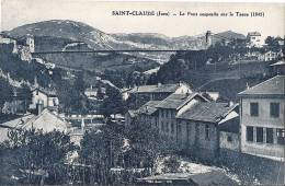 39 SAINT CLAUDE 1930 ?? MAISONS COURS D'EAU PONT ED ?? TBE - Saint Claude