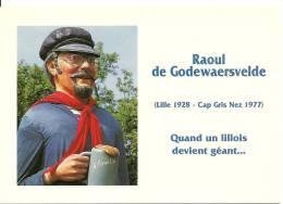 CPSM Du Chanteur Du Nord : RAOUL DE GODEWAERSVELDE - Sänger Und Musikanten
