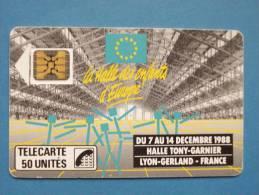 HALLE TONY GARNIER - 50 UN - 1988
