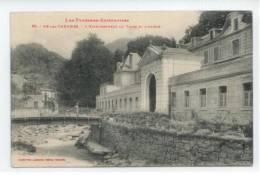 09 - AX Les THERMES - L'Etablissement Du Teich Et L'Ariège - Ax Les Thermes