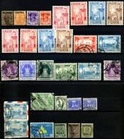 Kleines Lot Von 40 Briefmarken Von Burma - Birma, Ca. Aus Den Jahren 1937 Bis ??siehe 2 Scans ** + *+ O =gestempelt/obli - Myanmar (Burma 1948-...)
