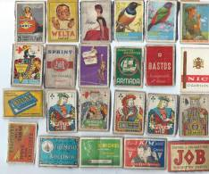 Etiquettes/Allumettes/Bel Gique/Théme TABAC/Vrac/Années 50                     AL15 - Cajas De Cerillas - Etiquetas