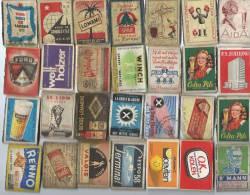 Etiquettes/Allumettes/Bel Gique/Théme Divers/Vrac/Années 50                     AL16 - Matchbox Labels