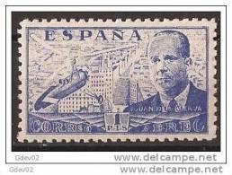 ES944-LA862TTH.Spain Espagne AUTOGIRO.Ingeniero. JUAN DE LA CIERVA 1941/1947 (944**) Sin Charnela MUY BONITO - Helicópteros