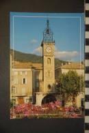 CP, 04, Sisteron Place De L'horloge - Sisteron