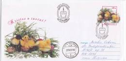 MOLDOVA  MOLDAVIA  MOLDAWIEN  MOLDAU 2008  Spec.cancelation. Easter. Pre-paid Envelope.Used. - Moldova