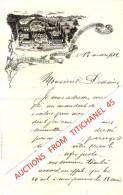 Lettre De 1901 Illustrée D´une Belle Lithographie Des Ets. De CARLSBOURG Dirigé Par Les Frères Des Ecoles Chrétiennes - Non Classés