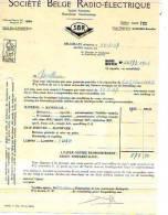 Forest - 1937 - Société Belge Radio-Electrique S.A. - Électricité & Gaz
