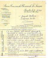 Bruxelles - 1930 - Bureau Commun Des Chemins De Fer Français - Transport