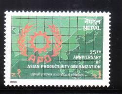 Nepal 1986 Asian Productivity Organization MNH - Népal