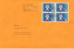 Tag Der Briefmarke BERN 1960 (Autopost-Stempel)  Mit Zu 353 Mi 694 (Zumstein CHF 10.00 ++) - Tag Der Briefmarke