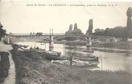 Le Perreux : La Passerelle Prise Du Perreux - Le Perreux Sur Marne