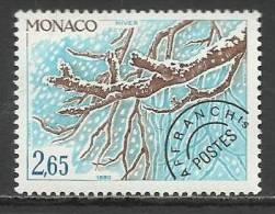 MONACO , Timbre Préo , 2.65 Frs , Les Quatres Saisons Du Maronnier , Hiver , 1980 , N° 69 , ** - Préoblitérés