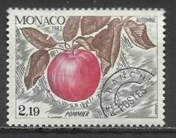 MONACO , Timbre Préo , 2.19 Frs , Les Quatres Saisons Du Pommier , Automne , 1983 , N° 80 , ** - Préoblitérés
