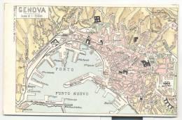 3363-GENOVA-CARTINA TOPOGRAFICA-FP - Maps