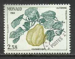 MONACO , Timbre Préo , 2.38 Frs , Les Quatres Saisons Du Cognassier , Automne , 1984 , N° 84 , ** - Préoblitérés