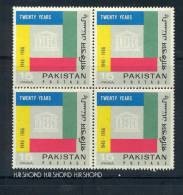 1966,Pakistan, MNH(**) Stamps, 4 St. - Pakistan