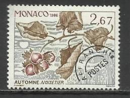 MONACO , Timbre Préo , 2.67 Frs , Les Quatres Saisons Du Noisetier , Automne , 1986 , N° 92 , ** - Préoblitérés