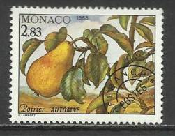MONACO , Timbre Préo , 2.83 Frs , Les Quatres Saisons Du Poirier , Automne , 1988 , N° 100 , ** - Préoblitérés