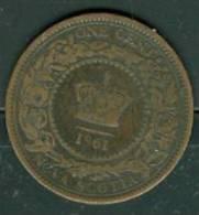 Canada / Nova Scotia , 1 Cent 1861 Victoria   -   PEIB0705 - Canada
