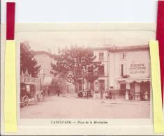 CAPESTANG  PLACE DE LA REVOLUTION    TRES BEL ETAT - Capestang