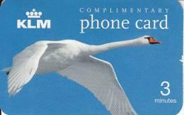 NETHERLANDS - KLM, Sprint Promotion Prepaid Card, Exp.date 15/01/04, Used - Aviones
