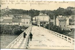 84-  Pont-d´Avignon.  Le Pont De Bois Et Les Coteaux - Avignon