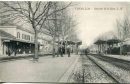 84-  Cavaillon   -  Intérieur De La Gare                            L.N éditeur - Cavaillon