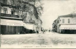 84-  Cavaillon   -Avenue Garibaldi.         L.N     Cafés - Cavaillon