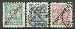 Portugal #83,87 D.Luis Ovpt Provisorio Mint And Used - L3096 - 1862-1884 : D.Luiz I