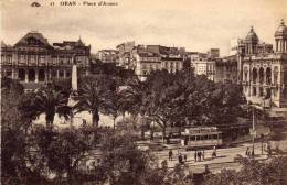 C.A.P. - Oran - Place D'armes  -   Transport : Tramway  -   Pub : Rhum Luceta - Oran