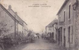 15 - SAINT-AMANDIN - La Grande Rue - Attelage - Other Municipalities