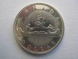 1 DOLLAR 1961. Argento SPL. - Canada