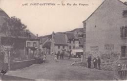 15 - SAINT-SATURNIN - La Rue Des Vergnes - Other Municipalities