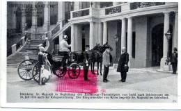 AUSTRIA. Kaiser FRANZ JOSEPH. 30 Juli 1914 Kriegserklarung. Posted For FLECHTDORF 1915 - Familias Reales