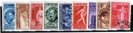 Belgie ....  OBP ....   728/736  ....   O ....  Gebruikt ... Oblitere .....  Gebraucht .....  Cancelled - Used Stamps
