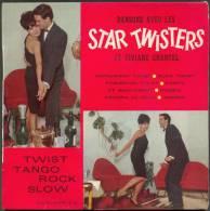 "45 T  STAR-TWISTERS  8 TITRES "" VARGAL "" PEPPERMINT TWIST .. DUCK TWIST ... - Rock"
