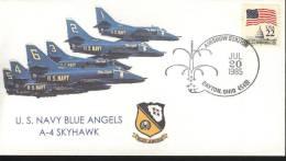USA Cover  US Navy Blue Angels  A-4 Skyhawk - Sonstige (Luft)