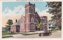 North Carolina Sanford First Presbyterian Church