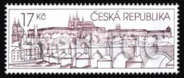 Czech Republic - 2010 - Prague Castle In The Stamp Art Exhibition - Mint Stamp - Nuovi
