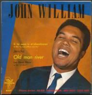"45 T JOHN-WILLIAM  4 TITRES  "" TRIANON ""  JERICHO ..OLD MAN RIVER ... - Blues"