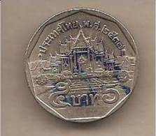 Thailandia - Moneta Circolata Da 5 Baht - Thaïlande