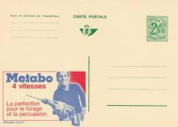 Publibel 2445 F  METABO - Entiers Postaux