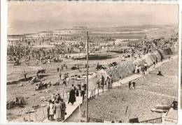 CPSM AULT ONIVAL PLAGE TENTE S 80 SOMME - Ault