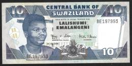 SWAZILAND :  10 Emalageni – 2006 - P29 -UNC - Swaziland