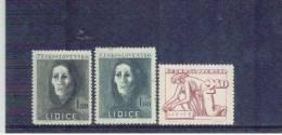 TSCHECHOSLOWAKEI , Czechoslovakia , 1947 , ** , MNH , Postfrisch , Mi.Nr. 518 - 520 - Cecoslovacchia