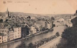 Namur La Sambre Et Panorama ( Binnenvaartschip Peniche ) - Namur
